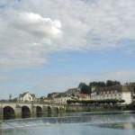 Gray : le pont et le déversoir
